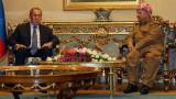 Иракски Кюрдистан призовава Русия да помогне на кюрдите в Сирия