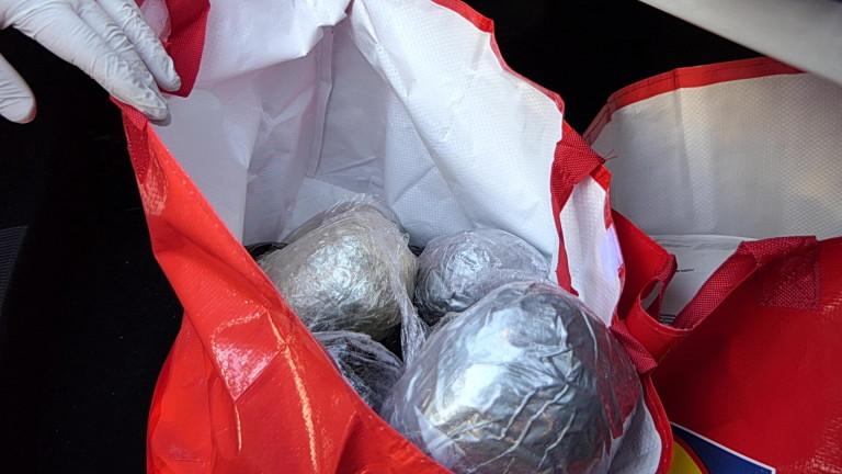 16 кг хероин са задържани при акция на ГДБОП и