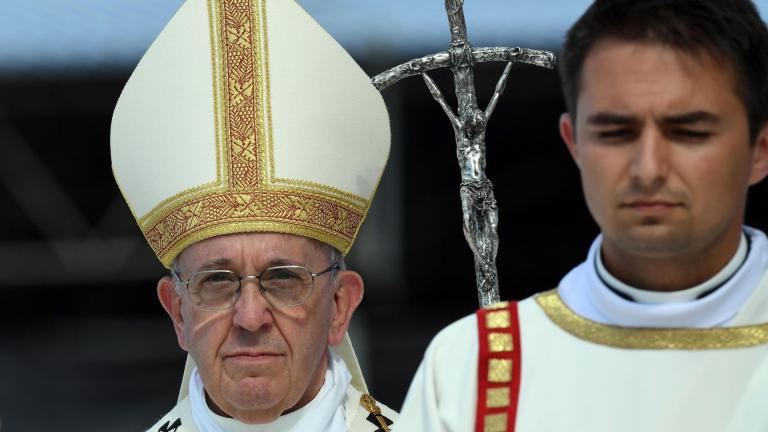 Папата посети дом за жени, склонявани насилствено към проституция
