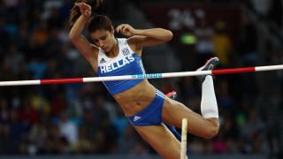 Екатерини Стефаниди добави световна към олимпийската си титла в овчарския скок