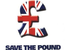 Паундът спада бавно, подобно на британската икономика