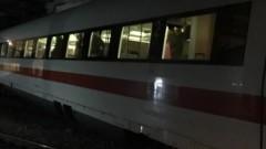 Влак дерайлира в Швейцария
