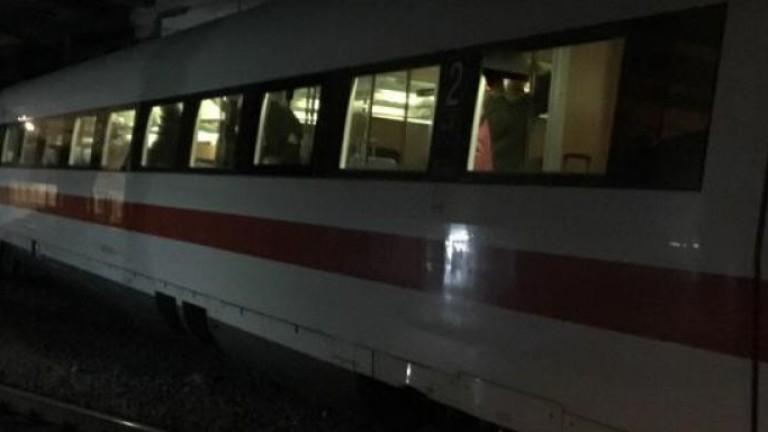 Снимка: Влак дерайлира в Швейцария