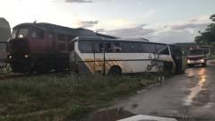 Шофьорът на буса е виновен за катастрофата с влака край Симеоновград