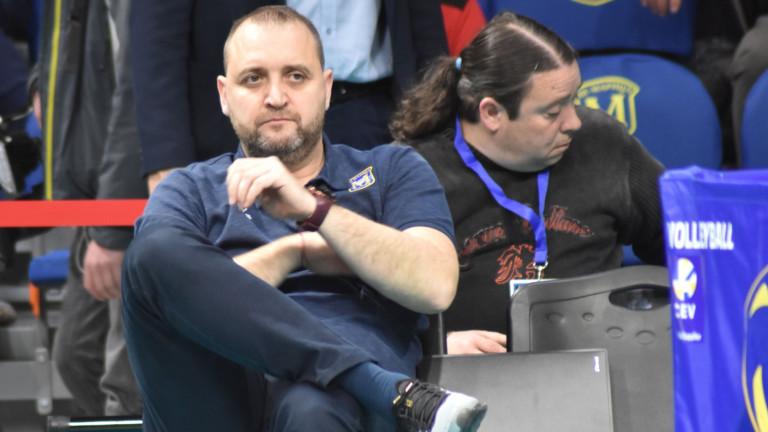 Старши-треньорът на Марица (Пловдив) Иван Петков коментира клубния сайт спечелената