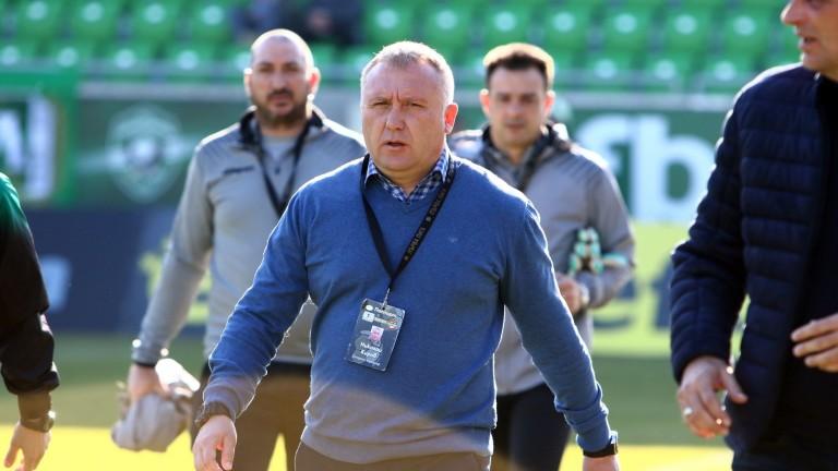 Треньорът на Ботев (Пловдив) Николай Киров коментира предстоящия мач на