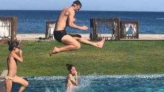 Щурата семейна ваканция на Димитър Бербатов