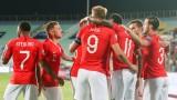 България загуби тежко от Англия с 0:6