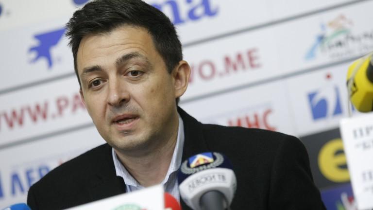 Изпълнителният директор на Левски Красимир Иванов за пореден път заяви,