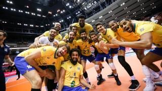Волейболистите на Бразилия спечелиха трета Световна купа
