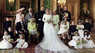 Първи снимки на Меган Маркъл като част от кралското семейство