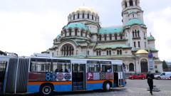 Тролей по линия 1 в София показва културното наследство на България