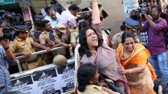 Сблъсъци в Индия заради влизането на жени в хиндуистки храм