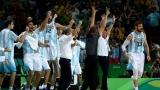 Аржентина смълча Бразилия в драматична баскетболна битка