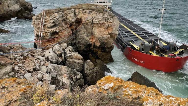 Машинното отделение на Vera Su е пълно с вода, корабът не може да бъде спасен