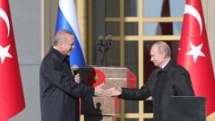 """Ердоган и Путин доволни от развитието на АЕЦ """"Аккюу"""" и """"Турски поток"""""""
