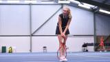 Мария Сакари, Кристина Младенович и Айла Томлянович на 1/4-финал в Нотингам
