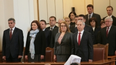 Радев назначава служебните министри