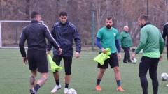 Димитър Макриев с хеттрик в неофициалния си дебют за Вихрен