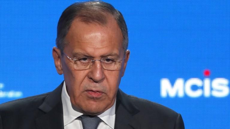 Руският външен министър Сергей Лавров обяви, че САЩ са се