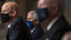 Фаучи притеснен от броя на болните в САЩ, не участва в лечението на Тръмп
