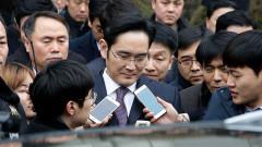 Обвиненият в корупция шеф на гиганта Samsung отива в затвора за 5 години
