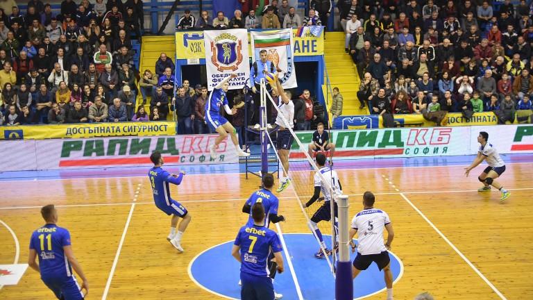 В понеделник са срещите от третия кръг за Купата на България по волейбол
