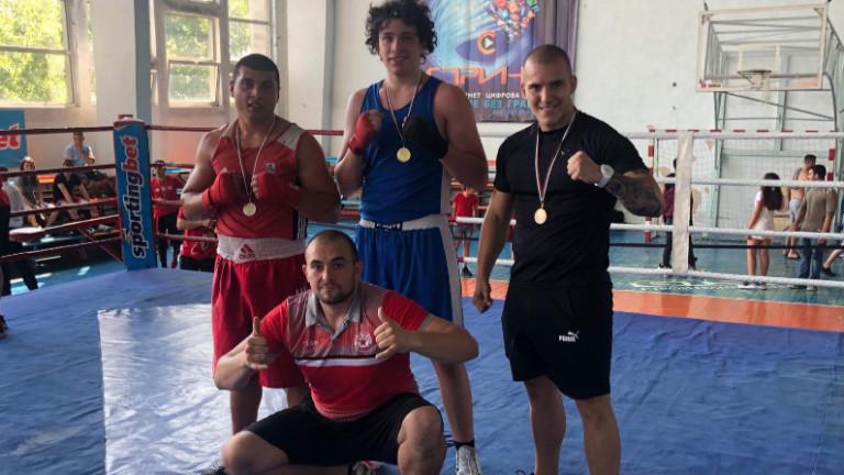 Състезателите по бокс на ЦСКА спечелиха три медала от Държавния