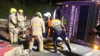19 души загинаха при инцидент с двуетажен автобус в Хонконг