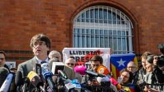 Пучдемон напусна ареста и призова за диалог с Мадрид