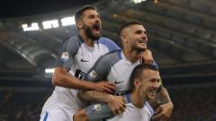 """Истинският Интер отново е тук! """"Нерадзурите"""" превзеха """"Олимпико"""" след зрелищен успех над Рома"""
