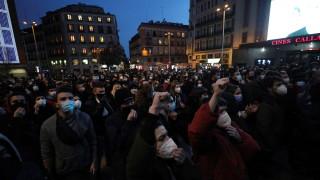 Пета протестна вечер в Барселона заради ареста на рапъра