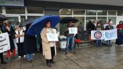 Медици в Бургас се вдигнаха на протест заради ниски заплати