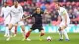 Англия - Хърватия 0:0, мощен натиск на домакините!