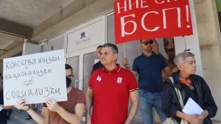 Кирил Добрев: Оставката на Нинова не е актуална, партията я остави