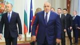 Борисов и Радев си стиснаха ръцете на рождения ден на КНСБ