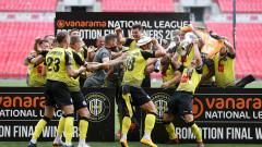 Основаният през 1914 година Харогейт Таун влезе в Лига 2