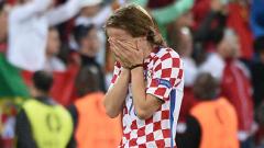 Модрич и компания плачат след отпадането от Евро 2016