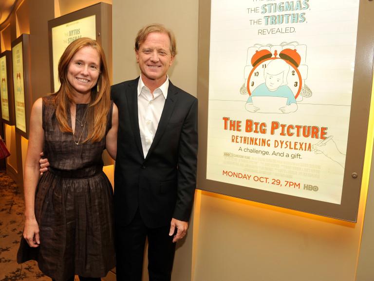 Джеймс Редфорд със съпругата си на премиерата на негов филм