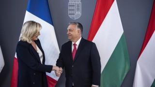 "Марин льо Пен подкрепи Орбан, обвини ЕС в ""идеологическа бруталност"""