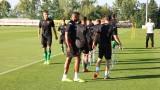 България вече тренира в Ирландия