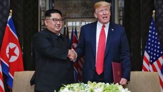 Тръмп имал доверие на Ким, не иска война с Иран