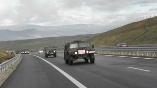 Военни и граничари със съвместно учение на ГКПП Илинден-Ексохи