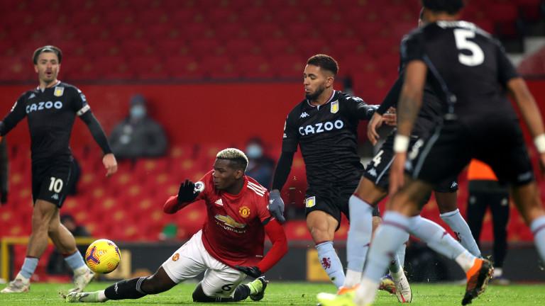 В Астън Вила са шокирани от дузпата срещу Манчестър Юнайтед