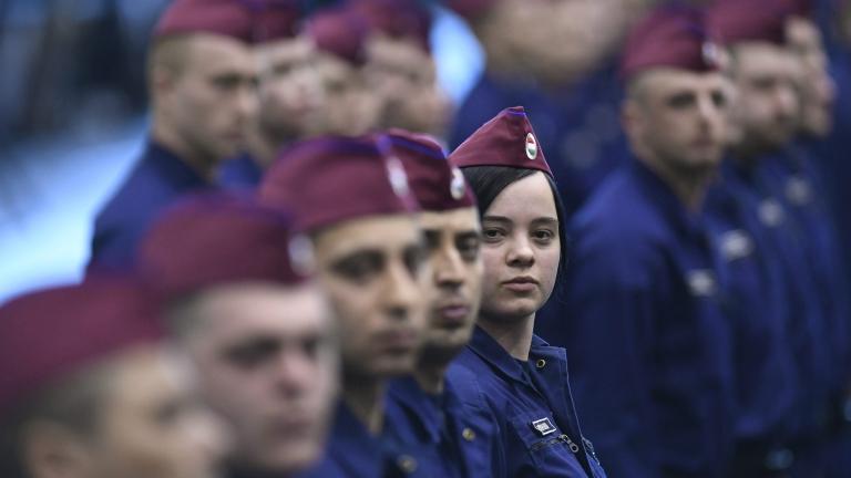 Задължителна военна подготовка в училищата в Унгария