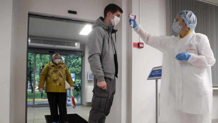 Близо 750 000 са вече заразените с COVID-19 в Русия