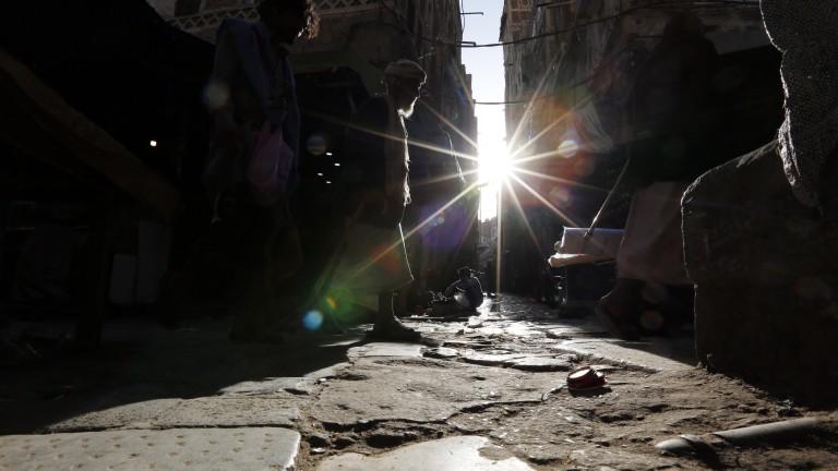 Коалицията на Саудитска Арабия бомбардира сватба в Йемен