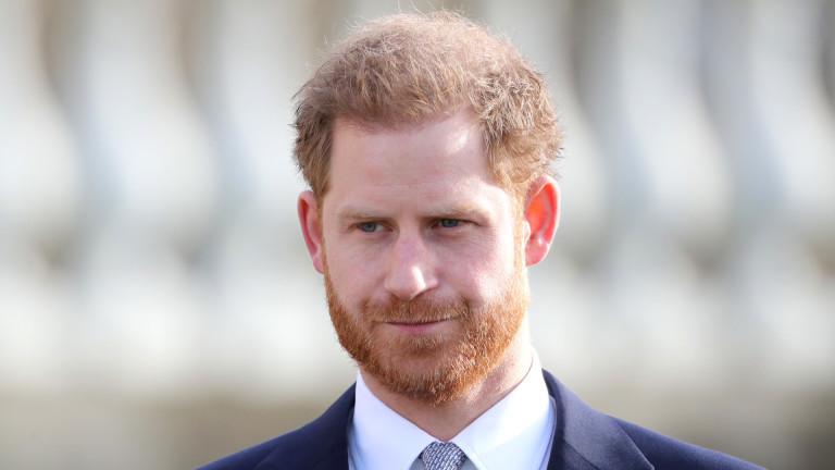 Миналата седмица принц Хари се появи във видимо добро настроение