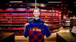 Де Йонг в Барселона: Това беше детската ми мечта! Фантастично е!