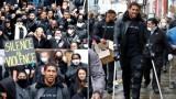 Джошуа с патерици на протестно шествие, под въпрос ли е мачът с Кобрата?